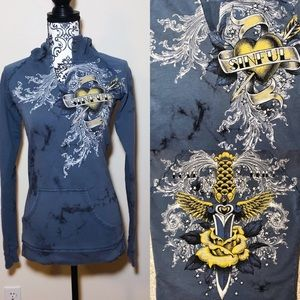 Sinful Affliction Graphic Hoodie